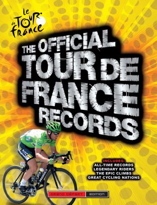 Image of The Official Tour de France Records book cover