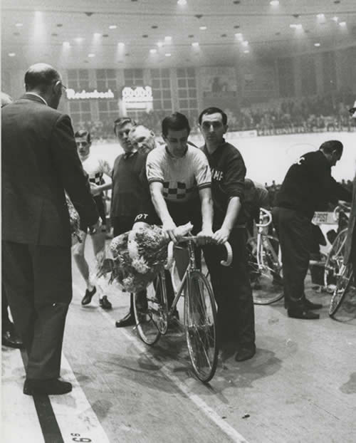 Image of Tom Simpson at the Ghent Six Day